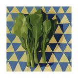 Geo Veggies I Premium Giclee Print by Emma Scarvey