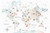 World Traveler I Poster by Laura Marshall