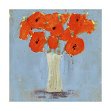 Orange Poppy Impression II Affiches par Victoria Borges