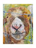 Pokey Goat Giclée-Premiumdruck von Elizabeth St. Hilaire