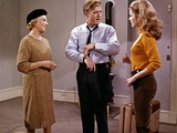 BAREFOOT IN THE PARK, 1967 directed by GENE SACHS Mildred Natwick, Robert Redford and Jane Fonda (p Photo