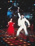 Saturday night fever by John Badham with Karen Lynn Gorney, John Travolta, 1977 (photo) Fotografía