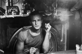 A STREETCAR NAMED DESIRE, 1951 directed by ELIA KAZAN with Marlon Brando (b/w photo) Photo