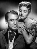 BRIGHT LEAF, 1950 directed by MICHAEL CURTIZ Gary Cooper / Patricia Neal (b/w photo) Fotografía