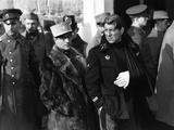 La grande illusion by Jean Renoir with Pierre Fresnay Jean Gab 1937 (b/w photo) Fotografía