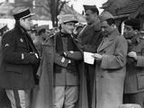 La grande illusion by Jean Renoir with Jean Gab Pierre Fresnay, Marcel Dalio, Julien Carette, 1937  Fotografía