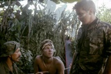 APOCALYPSE NOW, 1979 directed by FRANCIS FORD COPPOLA Frederic Forrest, Sam Bottoms and Martin Shee Photo
