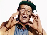 HATARI !, 1962 directed by HOWARD HAWKS John Wayne (photo) Foto