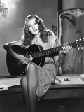 GILDA, 1946 directed by CHARLES VIDOR Rita Hayworth (b/w photo) Foto