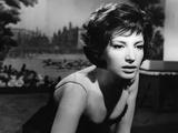 LA NOTTE, 1960 directed by MICHELANGELO ANTONIONI Monica Vitti (b/w photo) Valokuva