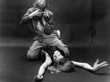 BLOW-UP, 1966 directed by MICHELANGELO ANTONIONI David Hemmings (b/w photo) Foto