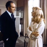 Belle by jour by Luis Bunuel with Michel Piccoli and Catherine Deneuve, 1967 (photo) Valokuva