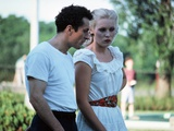Raging Bull by Martin Scorsese with Robert by Niro and Cathy Moriarty, 1980 (photo) Photo