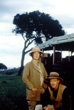 Out of Africa by Sydney Pollack with Meryl Streep and Robert Redford, 1985 (photo) Foto