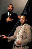 ANGEL HEART, 1987 directed by ALAN PARKER Robert by Niro and Mickey Rourke (photo) Photo