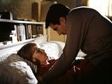 ROSEMARY'S BABY, 1968 directed by ROMAN POLANSKI Mia Farrow and John Cassavetes (photo) Foto
