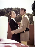 ON HER MAJESTY'S SECRET SERVICE, 1969 directed by PETER HUNT Diana Rigg / George Lazenby (photo) Foto