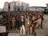Alamo by JohnWayne with Richard Widmark, John Wayne and Laurence Harvey, 1960 (photo) Foto
