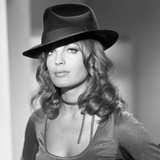 MAX and LES FERRAILLEURS, 1970 directed by CLAUDE SAUTET Romy Schneider (b/w photo) Foto
