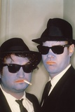 THE BLUES BROTHERS, 1980 directed by JOHN LANDIS John Belushi and Dan Aykroyd (photo) Photo