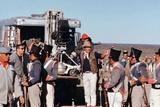 John Wayne sur le tournage by son film Alamo en, 1960 (photo) Foto
