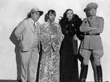 Shanghai Express by Josef von Sternberg with Warner Oland, Anna Mae Wong, Marlene Dietrich and Cliv Foto