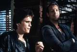RUMBLE FISH, 1983 directed by FRANCIS FORD COPPOLA Matt Dillon and Mickey Rourke (photo) Foto