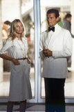 THE MAN WITH THE GOLDEN GUN, 1974 directed by GUY HAMILTON Britt Ekland / Roger Moore (photo) Photo
