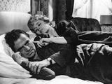 LOLITA, 1962 directed by STANLEY KUBRICK James Mason / Shelley Winters (b/w photo) Valokuva