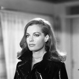 MAX and LES FERRAILLEURS, 1970 directed by CLAUDE SAUTET Romy Schneider (b/w photo) Photo