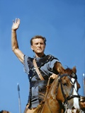 Spartacus by Stanley Kubrik with Kirk Douglas, 1960 (photo) Photo