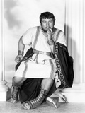 Spartacus by Stanley Kubrik with Peter Ustinov, 1960 (b/w photo) Photo