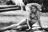 LOLITA, 1962 directed by STANLEY KUBRICK Sue lyon (b/w photo) Valokuva