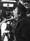 THE FEARLESS VAMPIRE KILLERS, 1968 directed by ROMAN POLANSKI On the set, Behind the camera, Roman  Foto