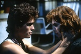 RUMBLE FISH, 1983 directed by FRANCIS FORD COPPOLA Matt Dillon and Diane Lane (photo) Foto