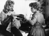 LOLITA, 1962 directed by STANLEY KUBRICK Sue Lyon / Shelley Winters (b/w photo) Valokuva