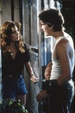 RUMBLE FISH, 1983 directed by FRANCIS FORD COPPOLA Diane Lane and Matt Dillon (photo) Foto