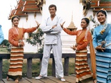 THE MAN WITH THE GOLDEN GUN, 1974 directed by GUY HAMILTON Roger Moore (photo) Photo