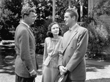 SHADOW OF A DOUBT, 1943 directed by ALFRED HITCHCOCK Joseph Cotten, Teresa Wright (b/w photo) Foto