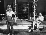LOLITA, 1962 directed by STANLEY KUBRICK Sue lyon / James Mason (b/w photo) Valokuva