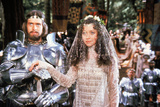 Excalibur by Joahn Booman with Nigel Terry (king Arthur) and Cherie Lunghi (Guenievre) c, 1981 (pho Photo