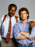 LETHAL WEAPON, 1987 directed by RICHARD DONNER Danny Glover and Mel Gibson (photo) Photo