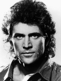 LETHAL WEAPON, 1987 directed by RICHARD DONNER Mel Gibson (b/w photo) Photo