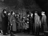 La grande Illusion by JeanRenoir with Eric von Stroheim, Pierre Fresnay and Jean Gabin., 1937 (b/w  Fotografía