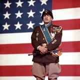 """""""Patton"""" by Franklin Schaffner with George C. Scott, 1970 (photo) Photo"""