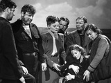 Lifeboat by Alfred Hitchcock, 1944 Foto
