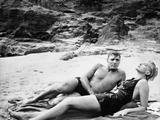 Tant qu'il y aura des hommes From Here to Eternity by FredZinnemann with Burt Lancaster and Deborah Photo