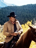 Cent Dollars pour un Sherif TRUE GRIT by Henry Athaway with John Wayne, 1969 (photo) Foto
