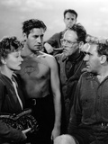 Lifeboat by Alfred Hitchcock with Tallulah Bankhead, John Hodiak, Henry Hull and William Bendix, 19 Foto