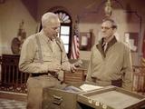 Patton by FranklinSchaffner with George C Scott and Karl Malden, 1970 (photo) Photo